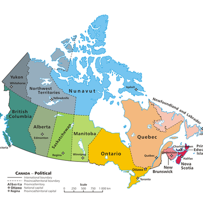Canadian Capitals